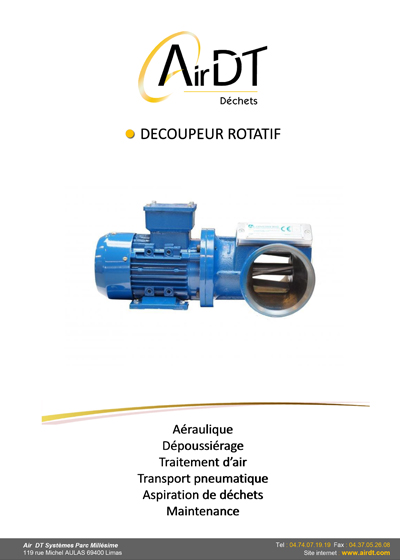 DOC DECOUPEUR ROTATIF - documentation PDF